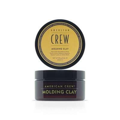 American Crew Molding Clay - glinka modelująca do włosów (mocne utrwalenie/półmatowy efekt ) 85g