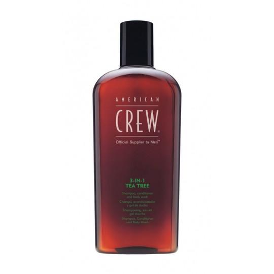 American Crew Tea Tree 3w1 Męski szampon, pod prysznic, odżywka w jednym 450 ml