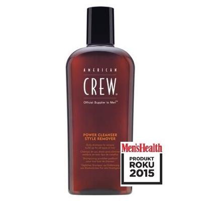 American Crew Power Cleanser męski szampon do włosów 250ml Produkt Roku Men\'s Health