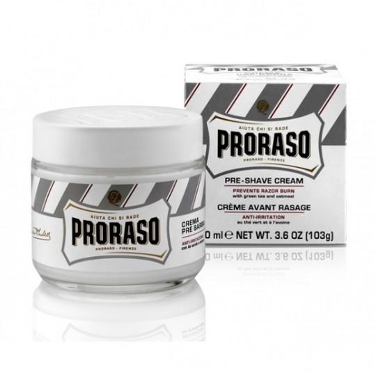PRORASO Zestaw kosmetyków do golenia dla skóry wrażliwej