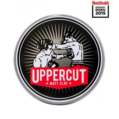 Uppercut Deluxe Matt Clay męska glinka matująca do włosów 60g Men`s Health BESTSELLER