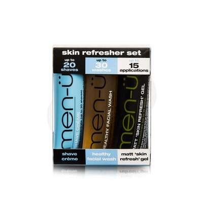 men-u Skin Refresher Męski zestaw odświeżający do twarzy 3x15ml