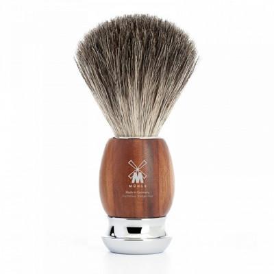Muhle Męski pędzel do golenia VIVO Śliwka (81H331)