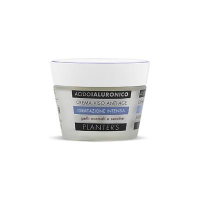 PLANTER\'S Krem nawilżająco-przeciwzmarszczkowy z kwasem hialuronowym cera sucha 50 ml