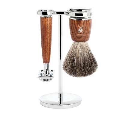 Muhle Rytmo Jesion - Zestaw do golenia z maszynką na żyletki (S81H220SR)