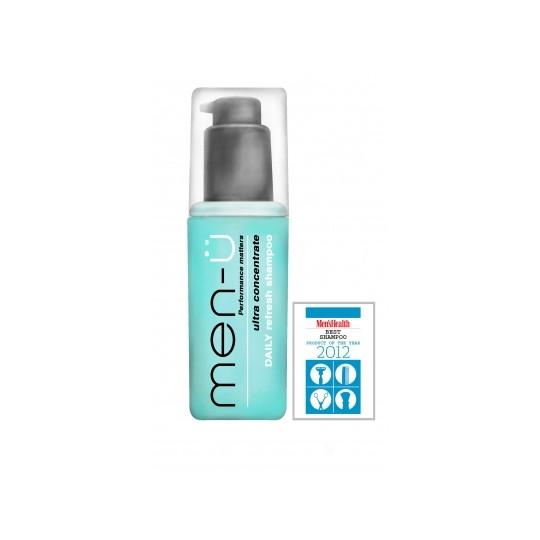 men-u Męski szampon głęboko nawilżający do codziennego stosowania 100ml Men`s Health produkt roku