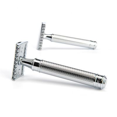 MUHLE R41 Grande maszynka do golenia na żyletki (otwarty grzebień)