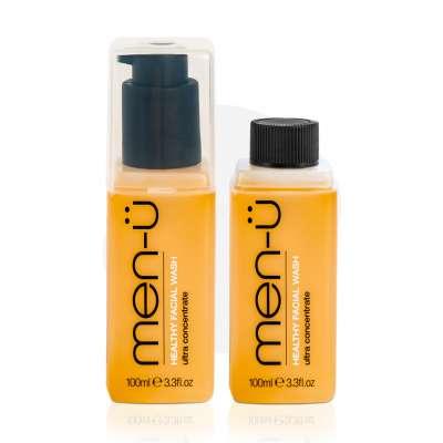 men-u Antybakteryjny żel do mycia twarzy 100 ml