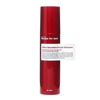 RECIPE FOR MEN Męski żel do mycia twarzy wrażliwej 100 ml
