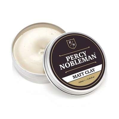 Percy Nobleman Matt Clay - Glinka do stylizacji włosów mocny chwyt/matowe wykończenie 100ml