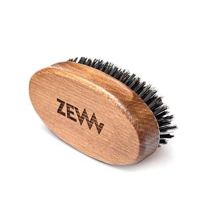 ZEW Bukowy kartacz szczotka do brody naturalne włosie dzika