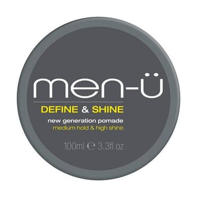 men-u Define & Shine Pomada do stylizacji włosów Wysoki połysk i średnie utrwalenie 100ml