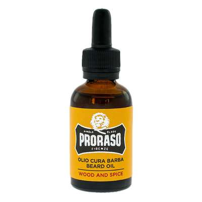 PRORASO olejek do brody WOOD & SPICES 30ml