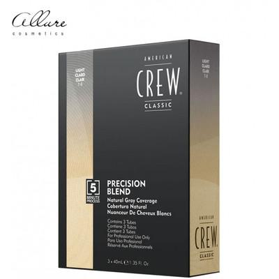 American Crew Precision Blend Odsiwiacz repigmentacja Kolor jasny 7-8 3x40ml