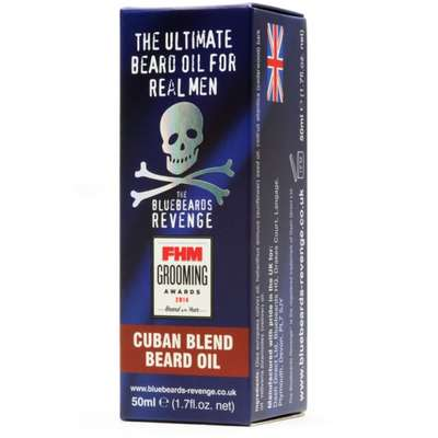 Bluebeards Revenge Kubański olejek do brody 50 ml