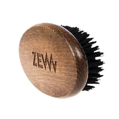 ZEW Bukowy kartacz szczotka do brody naturalne włosie dzika BESTSELLER