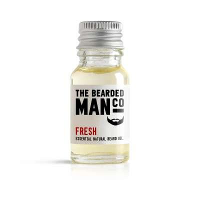Bearded Man Co - Olejek do brody Świeży - Fresh 10ml
