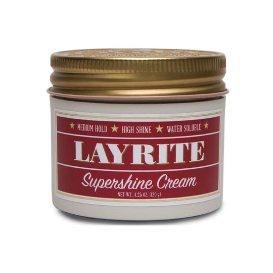 Layrite Supershine pomade Wodna pomada do modelowania włosów Średnie utrwalenie i super mocny połysk 113g