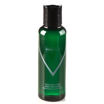 MenRock Pobudzający szampon do brody Sycylijska limonka i Kofeina 100ml