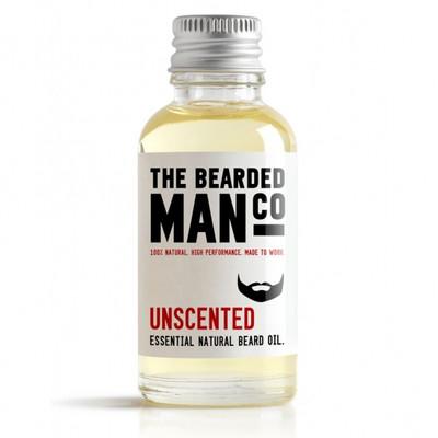 Bearded Man Co - Olejek do brody Bezzapachowy - Unscented 10ml