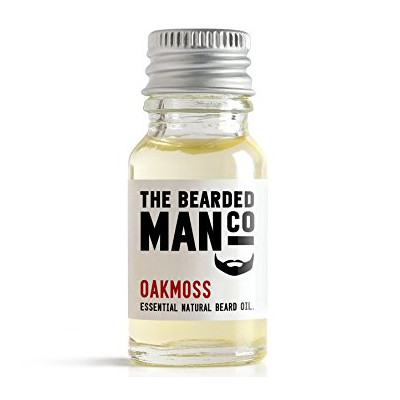 Bearded Man Co - Olejek do brody Beczka Whisky - Oak Barrel 10ml (1)