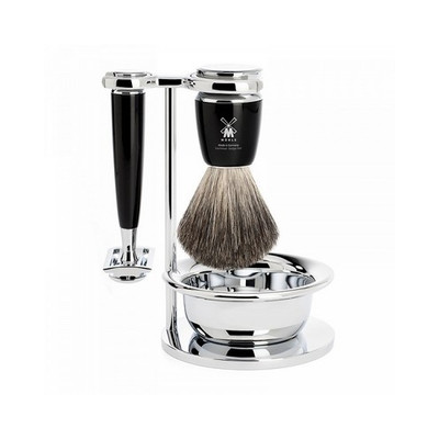 Muhle Rytmo Zestaw do golenia 4-częściowy - Maszynka na zyletki (S81M226SSR)