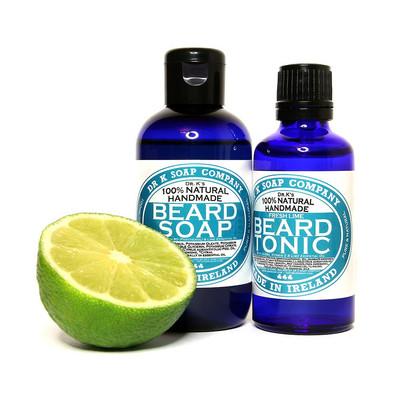 [Zestaw] Dr K Soap męski szampon do pielęgnacji brody limonka 100ml BESTSELLER + Dr K Soap Olejek, tonik do brody Pobudzająca Limonka 50ml