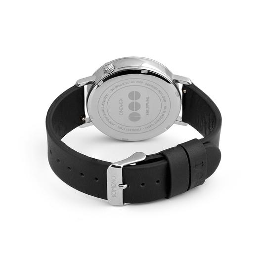 KOMONO Winston Royale silver blue - designerski męski zegarek klasyczny (1)