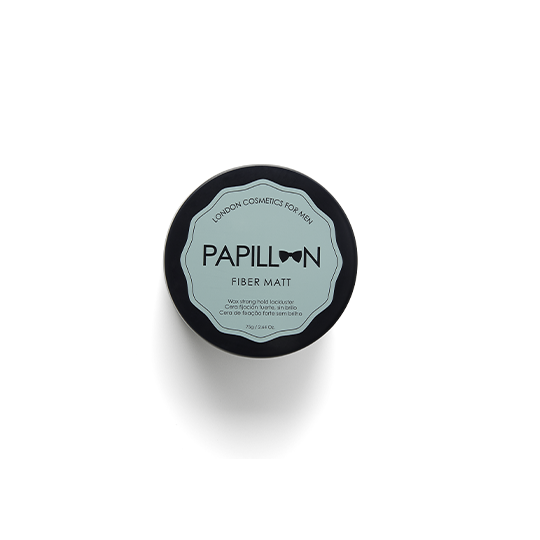 Papillon Fiber Matt - Matowa pomada do włosów bardzo mocny chwyt/matowe wykończenie 75ml