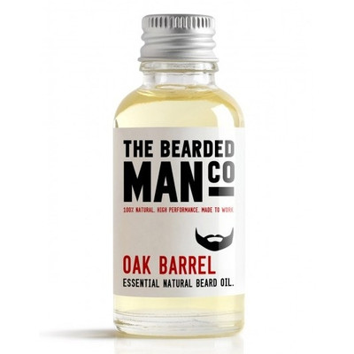 Bearded Man Co - Olejek do brody Beczka Whisky - Oak Barrel 10ml