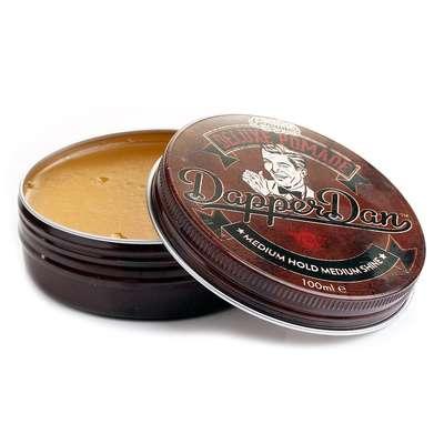 Dapper Dan Deluxe Pomade - wodana pomada do włosów średni chwyt/średni połysk 100ml