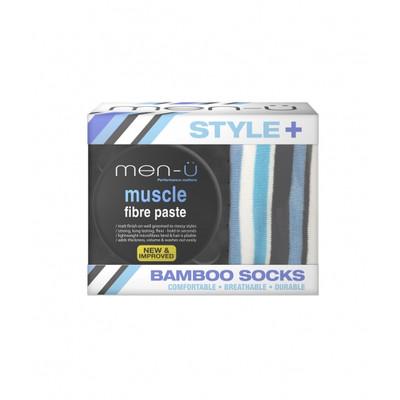 Men-u Zestaw pasta włóknista do włosów Muscle + skarpetki GRATIS