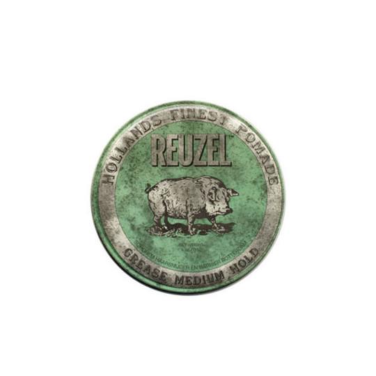 Reuzel Pomada Green Woskowa pomada średni połysk/średnie utrwalenie 113g