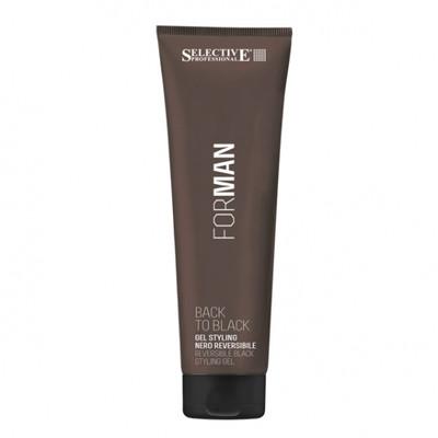 Selective Professional - BACK TO BLACK, żel maskujący siwe na czarne włosy 150ml