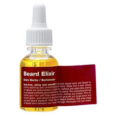 RECIPE Beard Elixir Olejek do brody drzewo cedrowe trawa cytrynowa 25ml