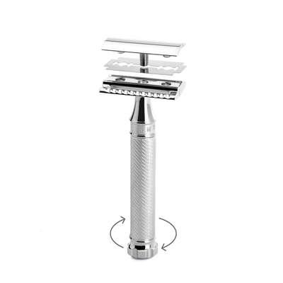 MUHLE R89 Twist maszynka do golenia na żyletki (zamknięty grzebień)