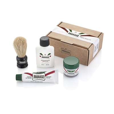 Proraso Travel shaving kit - podróżny zestaw do golenia