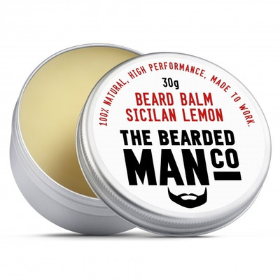 Bearded Man Co - Balsam do brody Sycylijska Cytryna - Sicilian Lemon 30g