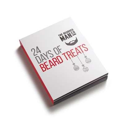 Bearded Man Kalendarz 24 zapachy olejków do brody 24x2ml