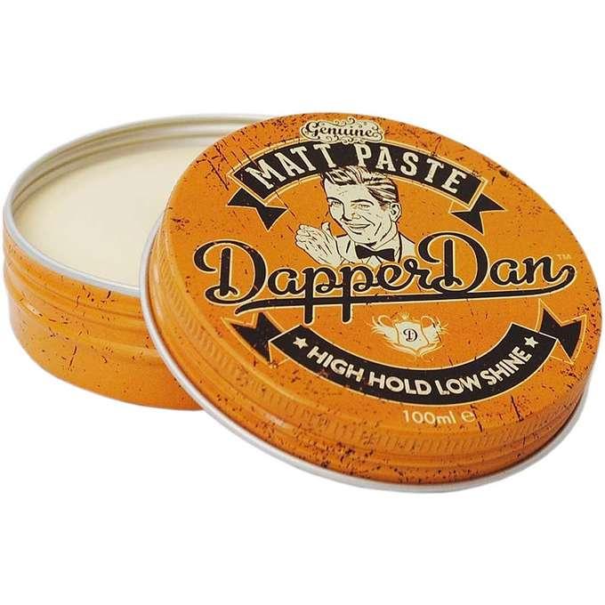 Dapper Dan Matt Clay - woskowa pomada do włosów mocny chwyt/matowe wykończenie 100ml (1)