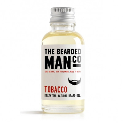 Bearded Man Co - Olejek do brody Tytoń - Tobacco 10ml