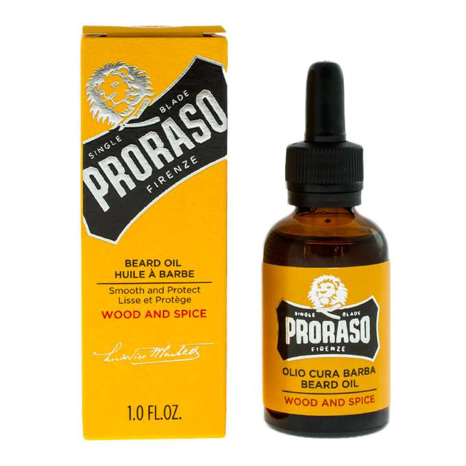 PRORASO szampon do brody WOOD & SPICES 100ml (1)