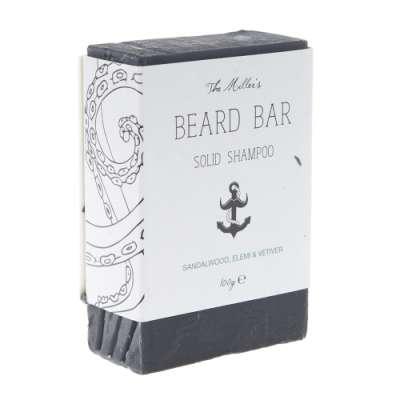 Brighton Beard męski szampon do mycia brody i wąsów w kostce 100g