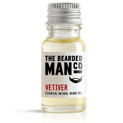 Bearded Man Co - Olejek do brody Wetiweria - Vetiver 10ml