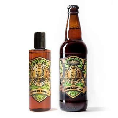 Captain Fawcett Beer'd Shampoo - piwny szampon do brody 250 ml