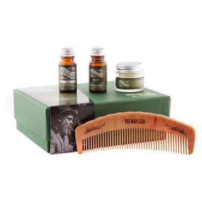 APOTHECARY 87 - Zestaw do brody i wąsów - Grzebień, wosk do wąsów i 2 olejki do brody