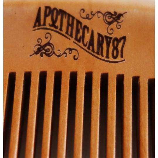 APOTHECARY87 męski grzebień do brody i wąsów