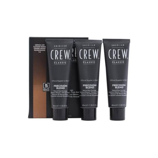American Crew Precision Blend Odsiwiacz repigmentacja Kolor średni brąz 5-6 3x40ml