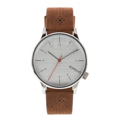 KOMONO Winston Brogue Walnut - męski zegarek