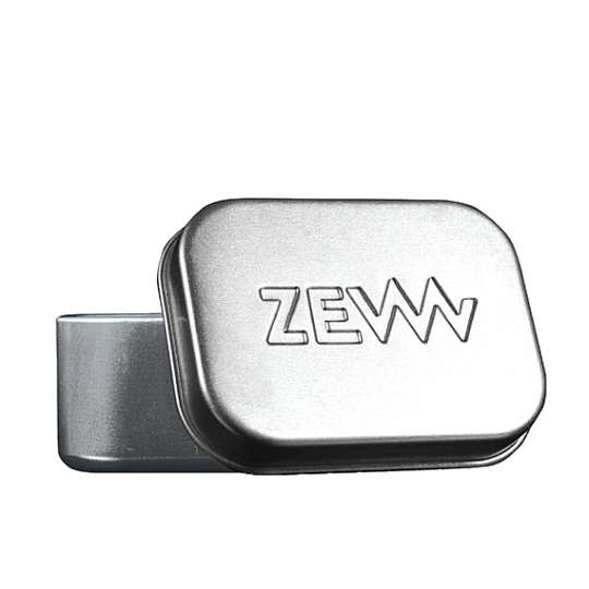 ZEW Aluminiowa zamykana mydelniczka na mydła ZEW